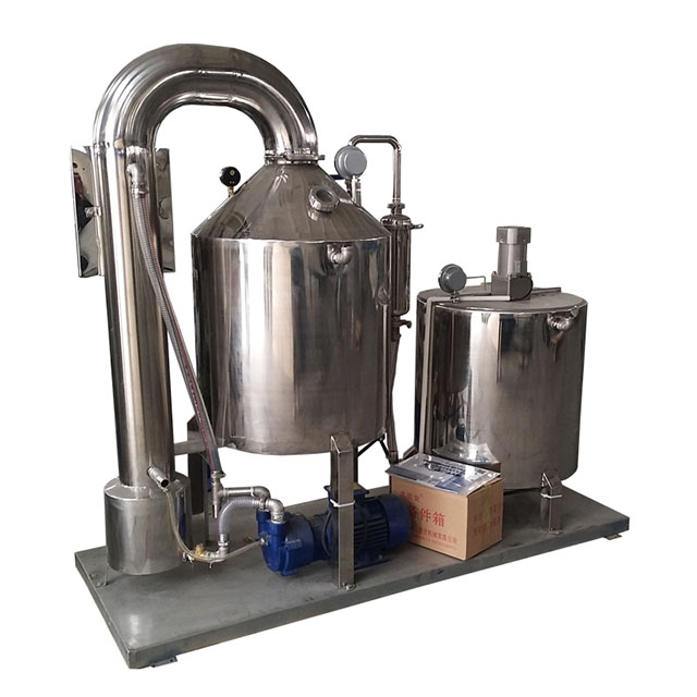Honey processing machine